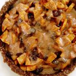 Caramel Apple Pie Raw Vegan Recipe Healthy and Delicious Recipe for the Holidays Plant-Based Raw Food Rawon10 Planted365
