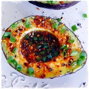 Lime Chipotle Avocados Easy Healthy Raw Food Recipe from Rawon10 #rawfood #easyrawfood #rawfoodrecipe #spicy #avocados