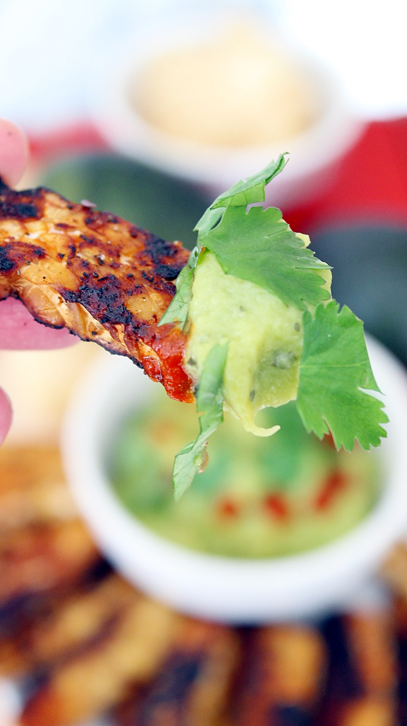 Tempeh-Bacon-with-Guacamole-Vegan-Plant-Based-Recipe-Planted365.com