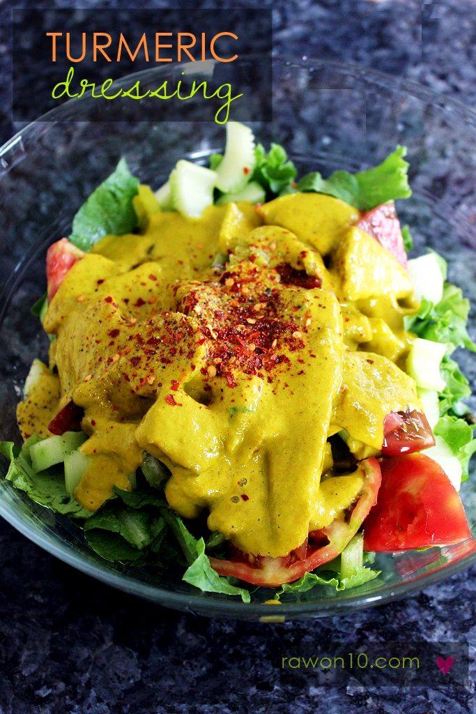 Turmeric Dressing Raw Food Recipe Raw On 10 A Day