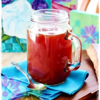 Orange Turmeric tea