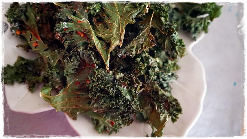 Chili Lime Kale Chips Raw Vegan Oil Free