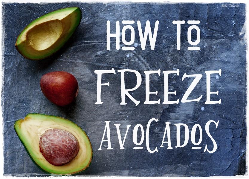 How to Freeze Avocados Raw Food Rawon10 Vegan #rawfood #rawfoodtips #vegantips #veganproduce