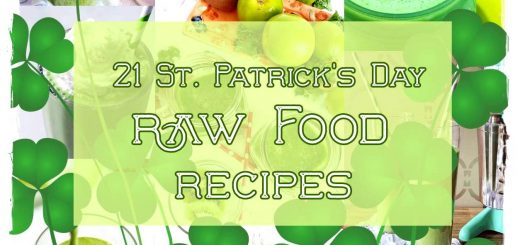 St Patricks Day Raw Food Recipes