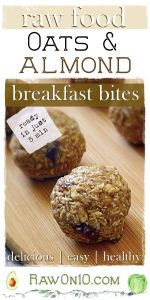 Raw Oats and Almond Breakfast Bites